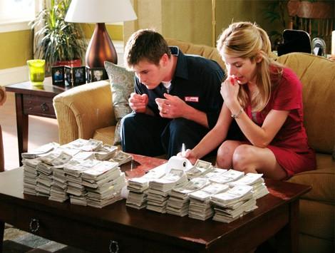 бухгалтер с кучей денег